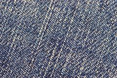 Denim. Closeup of Denim or blue jeans material Royalty Free Stock Images