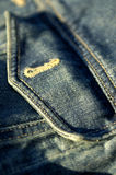 Denim. Jeans pocket Royalty Free Stock Images