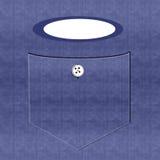 Denim-Arbeits-Hemd Stockfotografie