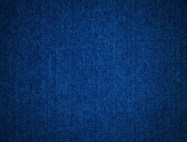 Denim background. This is textured detail from a blue denim jacket Stock Photo