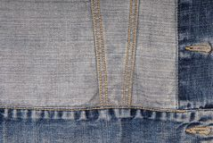 Denim background Stock Images