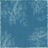 Denim background. Vector Image Stock Photography