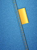 Denim background vertical Stock Photography