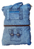 Denim Bag Royalty Free Stock Photos