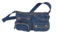 Denim bag Stock Images