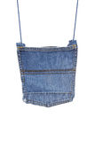 Denim bag Stock Photos