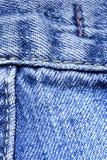 Denim blu-chiaro Fotografie Stock
