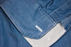 Denim blue Royalty Free Stock Photography