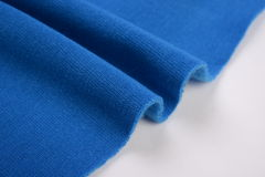 Denim blue cotton cloth Royalty Free Stock Photos
