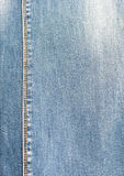 Denim blue fabric for the base product stock photography