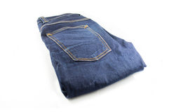 Denim-Blue Jeans Lizenzfreies Stockbild