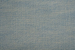 Denim blue jeans background. Close up to denim blue jeans background Royalty Free Stock Photo