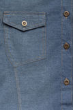 Denim blue jeans shirt Stock Photography