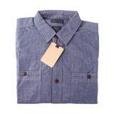 Denim blue jeans shirt Stock Photos