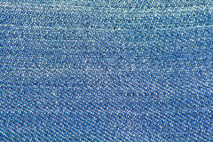 Denim Blue Jeans Texture Royalty Free Stock Image