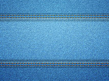 Denim border Royalty Free Stock Photos