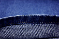 Denim cloth Royalty Free Stock Photos