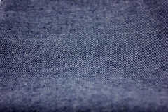 Denim cloth Stock Image