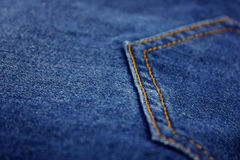 Denim cloth Royalty Free Stock Photography