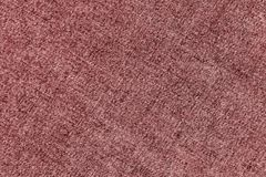 Denim cloth pattern in red color. Abstract background and texture Royalty Free Stock Image
