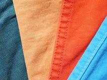 Denim colors Stock Images