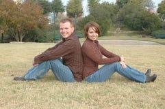 Denim Couple Royalty Free Stock Photo