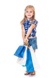 Denim customer royalty free stock photography