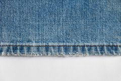 Denim cut for background Royalty Free Stock Photography