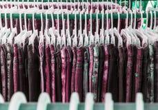 Denim dei jeans per la progettazione ed i precedenti Immagini Stock Libere da Diritti