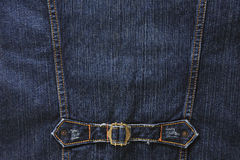 Denim detail Stock Photo