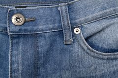 Denim detail Royalty Free Stock Photo