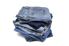Denim detail Royalty Free Stock Photos