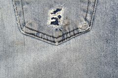 Denim detail Stock Image