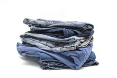 Denim detail Royalty Free Stock Images