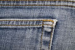Denim detail Royalty Free Stock Image