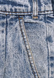 Denim Details Stock Photography