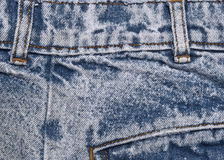 Denim Details Royalty Free Stock Photography