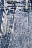 Denim Details Stock Photo