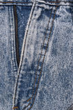 Denim Details Stock Image