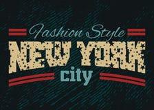 Denim 1 di stile di modo di New York City Fotografia Stock Libera da Diritti