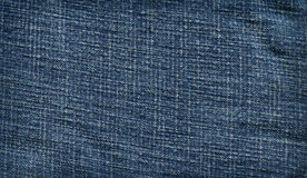 Denim fabric Royalty Free Stock Photos