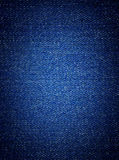 Denim fabric background Royalty Free Stock Images