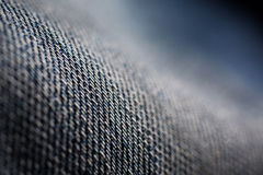 Denim fabric, jeans macro, thick cotton fabric, macro Stock Images