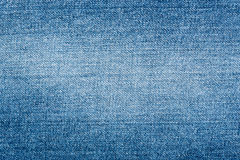 Denim fabric with a shabby stain Stock Photography