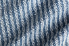 Denim fabric striped Royalty Free Stock Photo