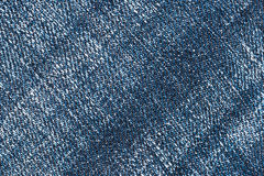 Denim fabric texture Stock Image