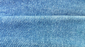 Denim fold royalty free stock image