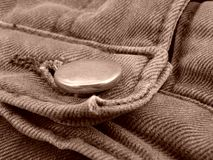 Denim fragment Stock Photography