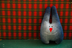 Denim hare or rabbit Stock Photo
