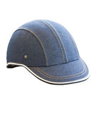 Denim Helmet. Stock Photography